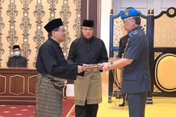 Deputy minister sworn in before the King