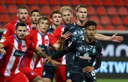 Werder Bremen retain Bundesliga status by narrowest margin