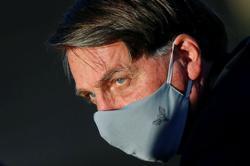 Brazil's Bolsonaro tested again for novel coronavirus