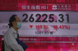 Asia markets slip as virus outbreaks mute hopes for rebound