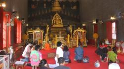 Thais offer prayers for safety and prosperity; zero Covid-19 cases on July 7