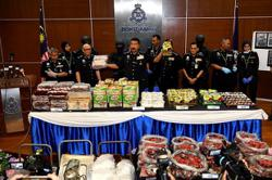 Raids in four states net 182kg of drugs worth RM10mil, bust two syndicates