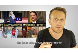 Content creator questions FB's move in rubbishing video of Malaysia's stellar handling of Covid-19