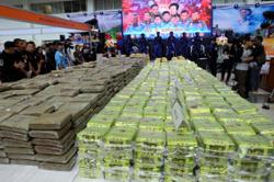 Thai police arrest 11 drug traffickers, seize colossal amount of drugs