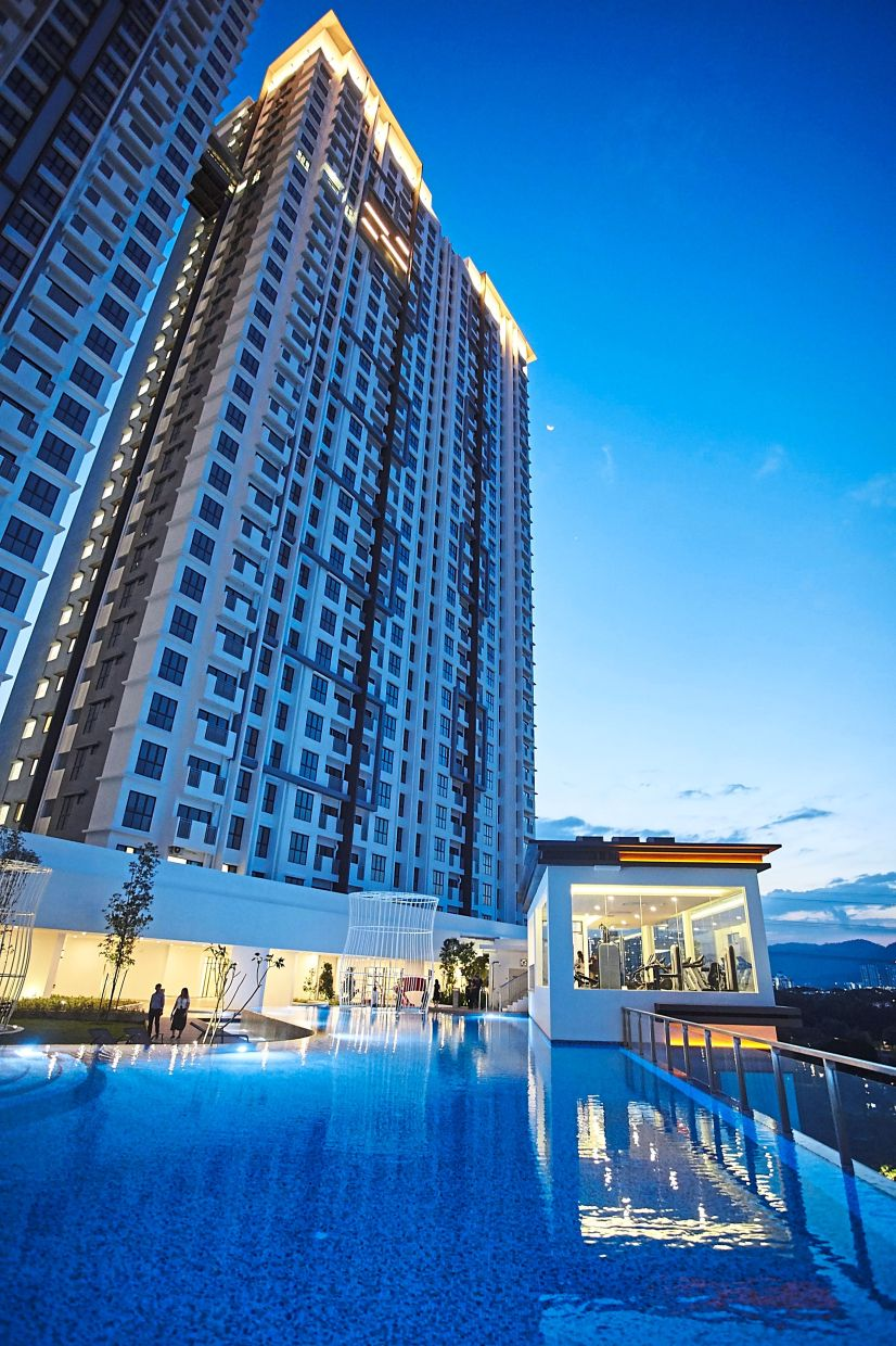 SkyAwani 2 exudes a resort-like ambience for its homeowners to wind down after a hectic day.