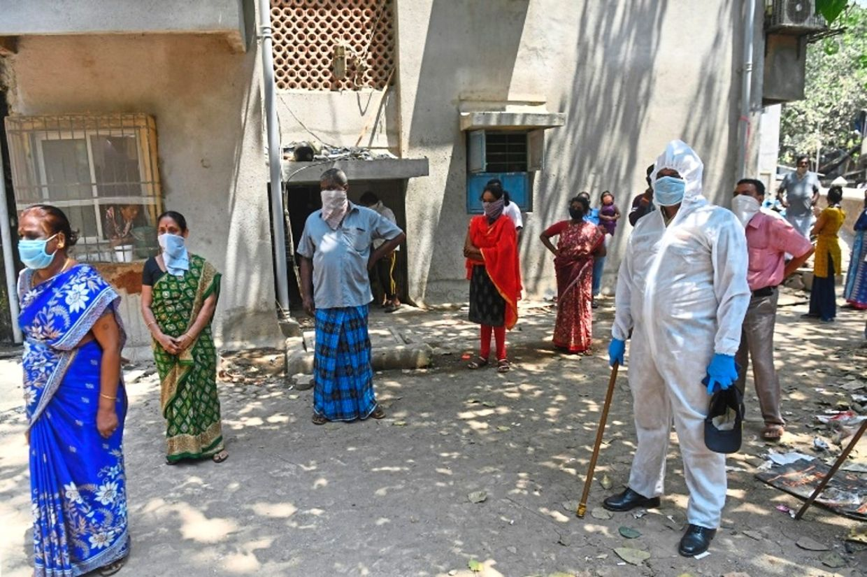 By late June, more than half of the slum's population had been screened for symptoms and around 12,000 tested for coronavirus.