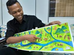 Orang Asli artist's new children's book addresses environmental concerns