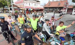 Penangites ride to mark World Heritage Day