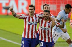 Celta and Atletico share spoils