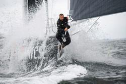 Plastic-tracking yacht adds splash of environmentalism to ocean racing