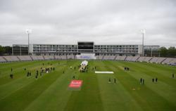 England 35-1 at tea as rain hits first test