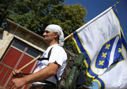Survivors of Srebrenica genocide march to honour victims, 25 years on