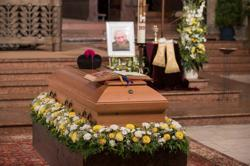 Former Pope Benedict's tribute read at elder brother's funeral