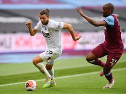 Burnley push West Ham back into danger