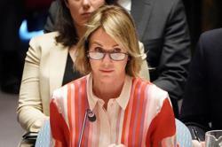 U.S. envoy says U.N. vote on Russia bid to cut Syria aid access is 'good versus evil'
