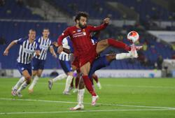 Salah double keeps Liverpool on track for points record