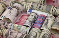 US$ tumbles to two-week low