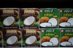 Officials working for removal of ban on Thai coconut milk in Europe