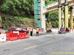Contractor under probe over highway construction mishap