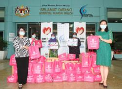 500 care packs for hospital's frontliners