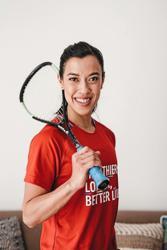 Insurer welcomes squash queen as its ambassador
