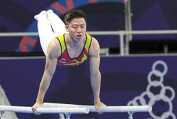 Gymnast Jeremiah wants to recover fully before competing