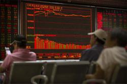 US, Global stocks succumb to shutdown fears but China charges on