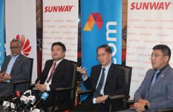 Sunway, Celcom, Huawei in 5G smart township solutions tie-up