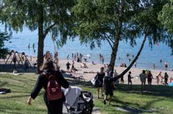 Swedish city launches app to stop crowding at beaches