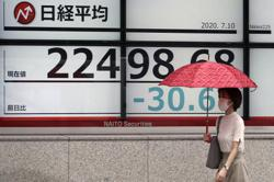 Asian markets tumble as infection rates jump