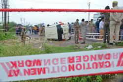Furore after Indian police shoot much-feared gangster dead