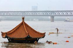 China's Yangtze River flood response raised to second highest