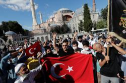Factbox: Reaction to Turkish ruling and Erdogan statement on Hagia Sophia