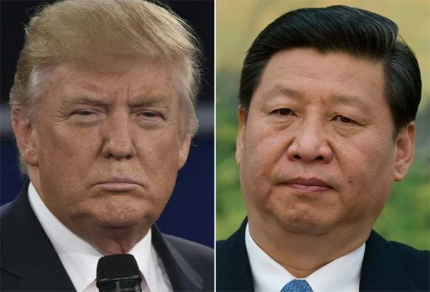 Whenever Trump (left) is put in a corner, his tactic is to blame China! (President Xi right). The latest being his wish to distract from his Administration's failure to contain the disease, Covid-19.