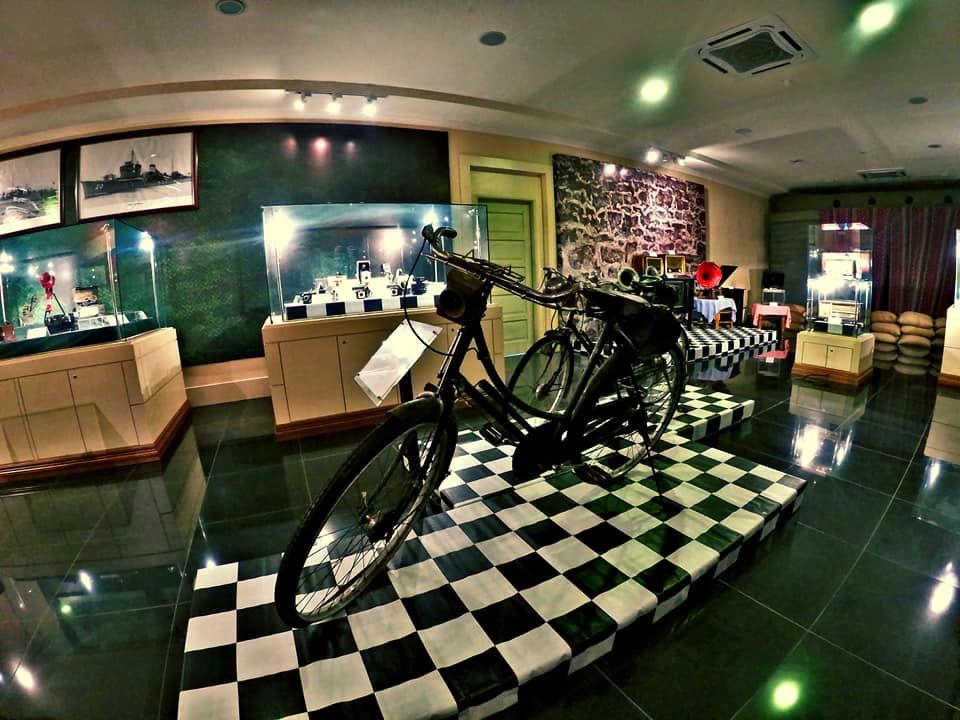 A vintage bicycle used by Japanese WWII troops is on exhibit at the Mersing Museum.