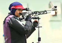 Veteran rifle shooter Suryani in jittery return to the range