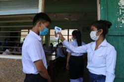 Laos: Covid-19 preventive measures remain in place at schools