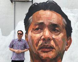 Health DG thanks mural artists who painted portraits of him, Agong and others