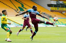 Antonio's four-goal salvo condemns Norwich to relegation