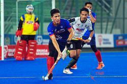 A slip that gave hockey defender Aminuddin many sleepless nights