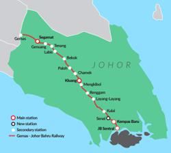 Benefits and challenges of the Gemas-Johor Baru Railway Electrified Double-Tracking Project