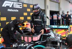 Hamilton's pole lap was out of this world, says Mercedes boss