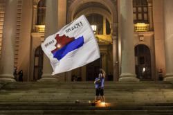 Thousands join anti-government protest in Serbian capital