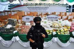 Record haul of 1.2 ton crystal meth worth US$77 million seized in southern Thailand
