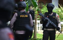 Police shoot terrorist suspect in Indonesia's Central Java