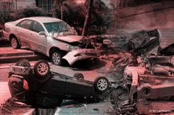 Drunk driver crashes into mosque gates in Bukit Mertajam
