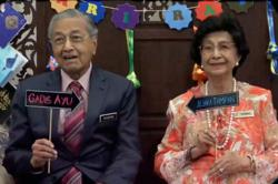 Dr M wishes Siti Hasmah 'Happy Birthday' with short video of them sharing tender moments