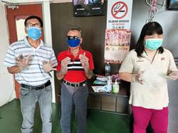 Blind masseurs happy to go back to work
