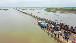 China's largest lake level rises