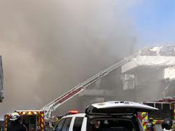 Fire crews battle San Diego navy ship fire, 18 sailors injured